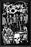 My Chemical Romance MCR Gerard Way, Frank Iero, Mikey Way, Ray Toro, Bob Bryar, Matt Pelissier, James Dewees Poster ★These wall art posters are designed to brighten any office and home space. Frames are not included with the set, however we highly re...