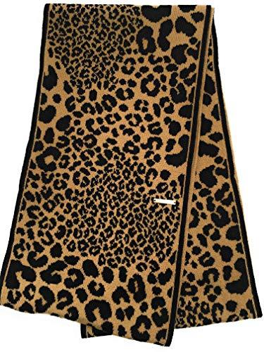 Michael Kors Loop/SCHAL - Camel - Braune Applikationen - Breite 25cm - weiche Acrylwolle - Damenschal 3679