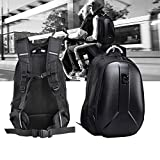 Waterproof Motorcycle Helmet Backpack 15L Large Capacity Hard Shell Backpack For Man Cycling Backpack Cycling Storage Bag
