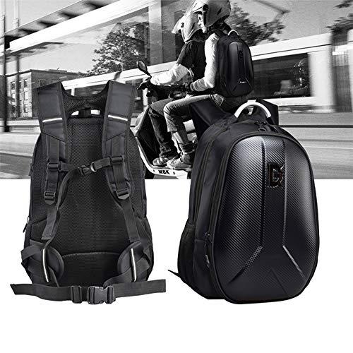 Waterproof Motorcycle Helmet Backpack 15L Large Capacity Hard Shell Backpack For Man Cycling Backpack Cycling Storage Bag