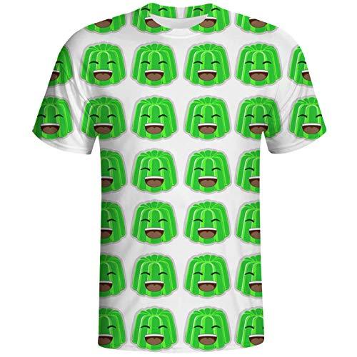 KTOP Jelly T Shirt - Camiseta de manga corta con estampado 3D para hombre