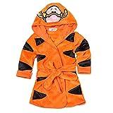 LIUONEXI Baby Jungen Mädchen Cartoon Bademantel Weichkorallen Fleece Infant Kleinkind Muticolored Nachtwäsche Outfit, 120, Tiger