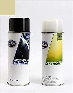 ColorRite Aerosol Automotive Touch-up Paint for Honda Civic - Shoreline Mist Metallic Clearcoat YR-528M - Color+Clearcoat Package