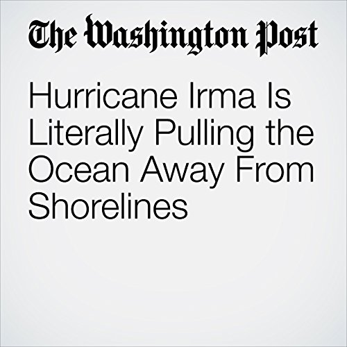 Hurricane Irma Is Literally Pulling the Ocean Away From Shorelines copertina