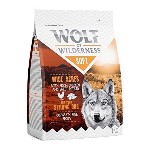 Wolf Of Wilderness Soft Wide Acres Hähnchen und Patete 1 kg
