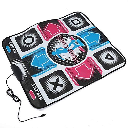 Weikeya Poderoso USB Ordenador Especial Baile Manta, 1.8m 8mm/0.31 Pulgadas 900x800mm Baile Estera con Cloruro de polivinilo por Entretenimiento Aptitud física