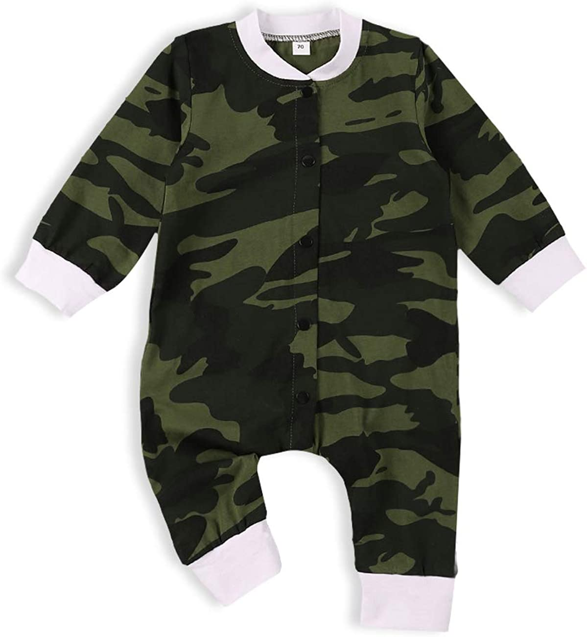 itkidboy Baby Boy Clothes Mama's Boy Camouflage Long Sleeve Romper Sweatshirt Tops Pants Outfit Set