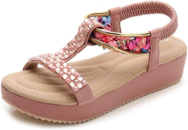 Owen Moll Women Fashion Sandals Bohemia Style Platform Ladies Stylish Casual Summer Sandal shoes