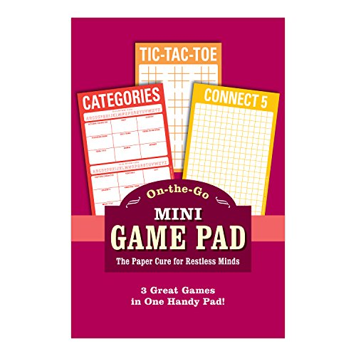 Knock Knock Mini On-The-Go Game Pad 2, Small Travel Activity Notepad, 4 x 6-inches Photo #6
