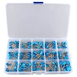 HALJIA 15 Valor 300 pcs cerámica de alta tensión condensadores surtido surtido Kit caja