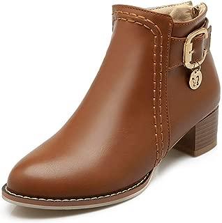 BalaMasa Womens ABS13864 Pu Boots