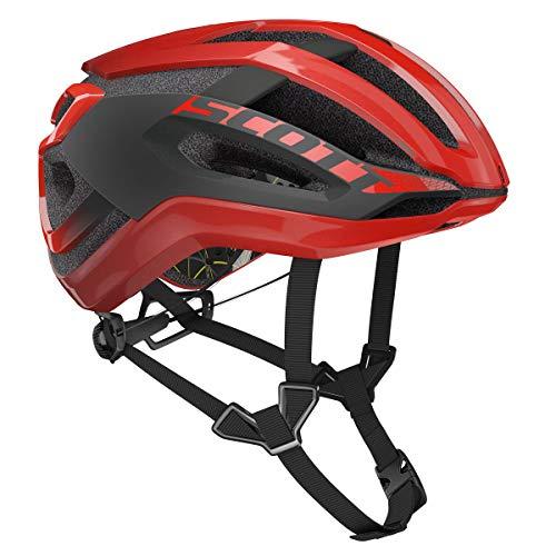 SCOTT Centric Plus MIPS 2020 - Casco de Ciclismo, Color Rojo y Gris