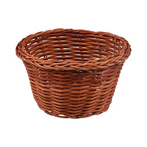 PRETYZOOM Osterkorb Weidenkorb Gewebter Picknickkorb für Ostern Partydekoration Eiersuche Liefert Picknickzubehör