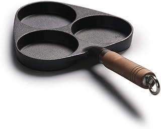 SHYOD Wok - Woks et poêles à frire avec couvercle, panier à friture et grille vapeur, casserole de wok antiadhésif en cuiv...