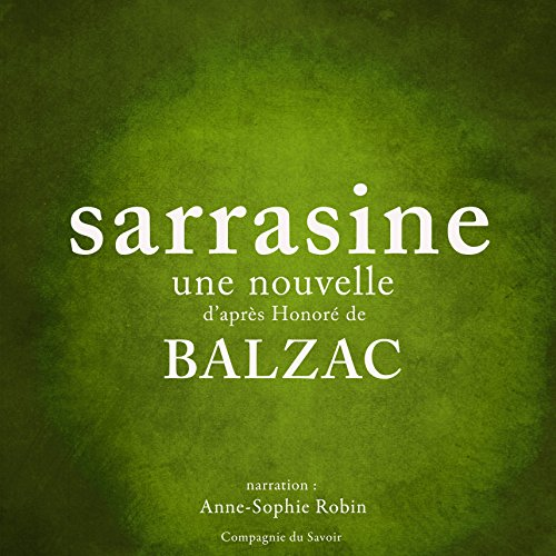 Sarrasine [French Version] audiobook cover art
