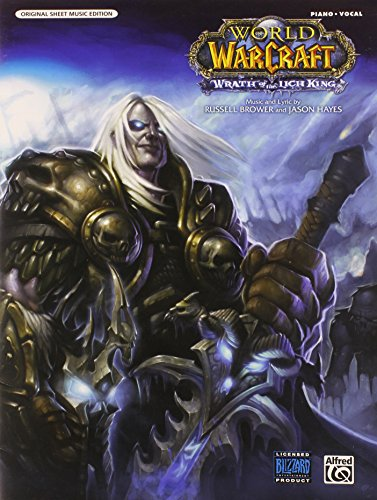 Wrath of the Lich King: Piano/ Vocal: Original Sheet Music Edition: Main Title