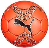 Puma 82683 Ballon de Handball Mixte Adulte, Orange Pop Black White, 3