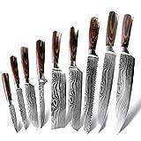 SCAYK Cuchillos DE Cocina Cuchillo DE Cuchillo Chile DE CHEF