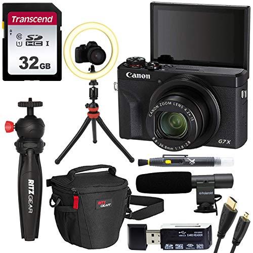 Canon G7 X Mark III Bloggers Bundle with...