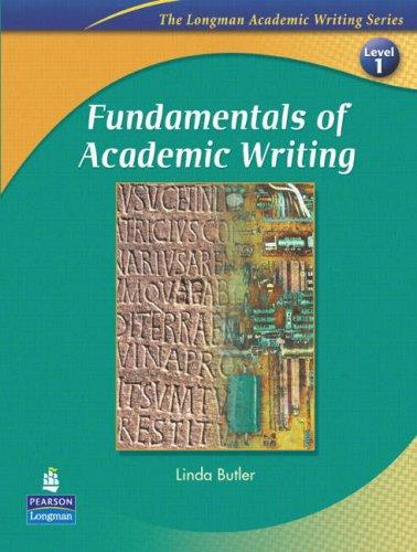 Fundamentals of Academic Writing (The Longman Academic...