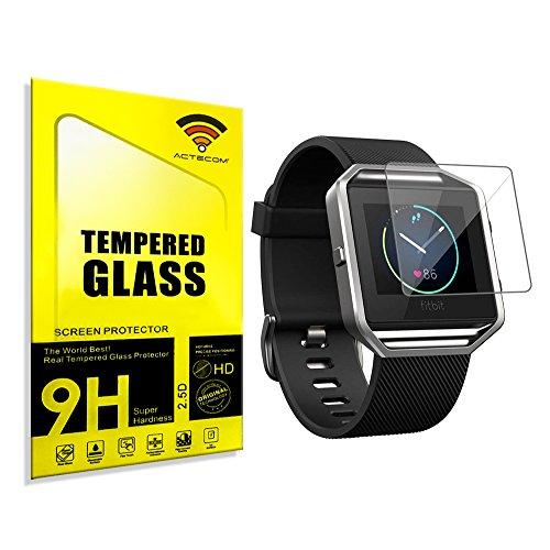 actecom® Protector Pantalla para Fitbit Blaze Cristal Vidrio Templado