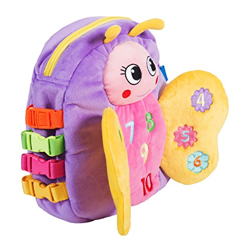 Buckle Toy - Blossom Butterfly...