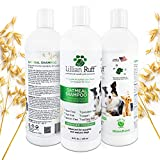Lillian Ruff Oatmeal Dog Shampoo - Lavender Coconut Scent with Aloe - Deodorize and Soothe Dry Itchy Skin - Gentle Cleanser for Normal to Sensitive Skin (16 oz)