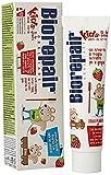 Biorepair Dentifricio Kids 0-6 anni, Dentifricio per Bambini senza Fluoro Gusto Frutta, Anticarie, per Gengive Sane, 50 ml