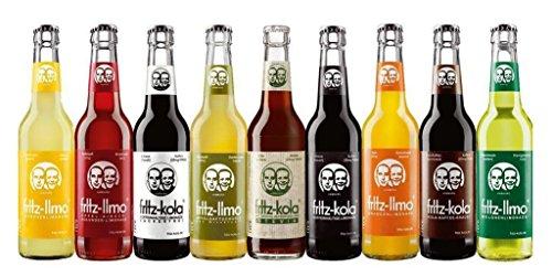 18 Flaschen Fritz Probierpaket 9er Mix a 0,33l incl. Pfand 2 x 9er Mix