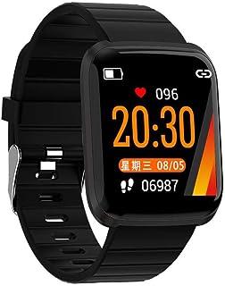Ritapreaty Men Smart Watch, rastreador de Ejercicios con Monitor de Ritmo cardíaco Monitor de Actividad Monitor de Seguimiento de Deportes a Prueba de Agua IP67