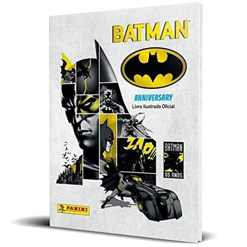 Álbum de figurinhas Batman 80 anos Anniversary - capa dura
