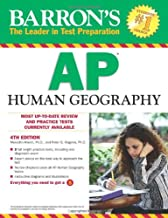 Barron's AP Human Geography (Barron's Study Guides)