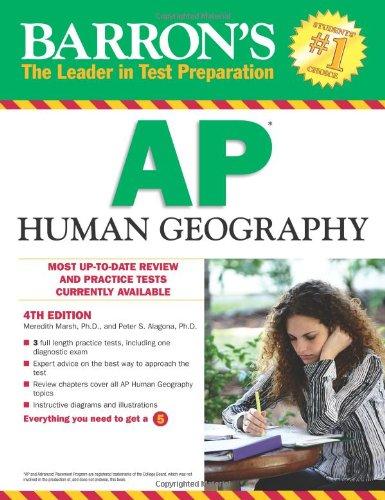 Barron's AP Human Geography (Barron's Study Guides)