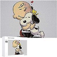 木製パズル Snoopy スヌーピー ジグソーパズル 1000ピース アニメ パズル 萌えグッズ 子供/大人 初心者向け ギフト 誕生日 クリスマス 贈り物