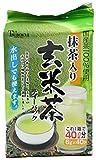 つぼ市 徳用 抹茶入玄米茶 ティーバック 6gX40袋