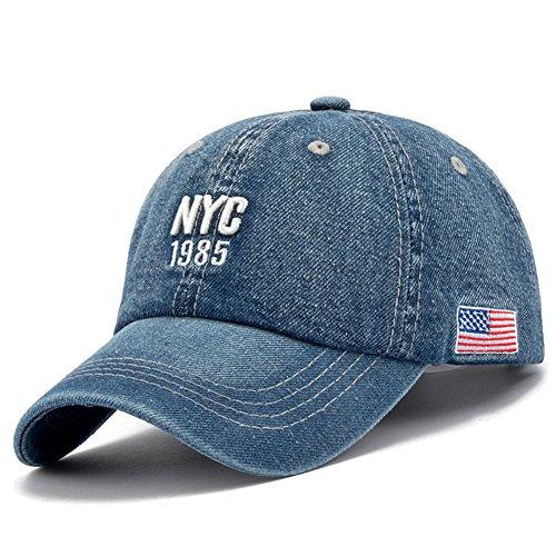 Générique Nouveau Style NYC 1985 Cap Hip Hop Chapeau Baseball Chapeau Hommes Sports de Plein air