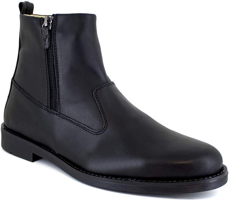 Low Boots J,Bradford Black Leather JB-BARNEY21