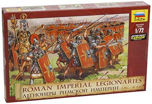 Zvezda 500788043 - Legionari dell'Impero Romano, Scala 1:72