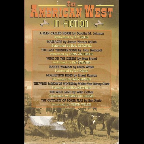 The American West in Fiction audiobook cover art