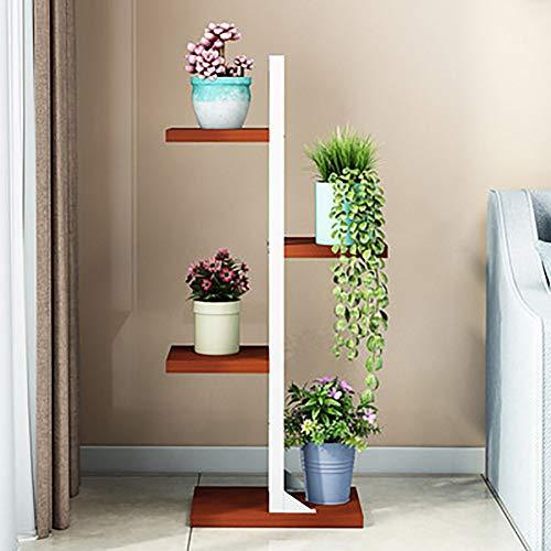 YXZQ Metall Blumentopfhalter, Blumenständer, Hausgarten Pflanzenständer, Display Topf Pflanzenhalter Rack Indoor & Outdoor für Home Decor