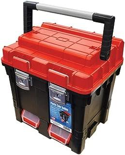 Faithfull - Plastic Cube Toolbox - 2 Trays 17in Deep