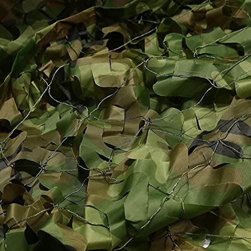 Red de camuflaje militar para caza de selva (3 x 5 m)