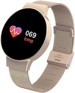 HBBOOI Pulsera de la Aptitud del Deporte de Color de Pantalla Inteligente Reloj podómetro Monitor de frecuencia Cardiaca de la cámara for Hombres y Mujeres