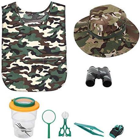 Conlense Outdoor Children High order Adventure Tweezers Binoculars Scis Cheap sale Kit
