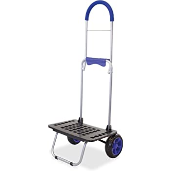 dbest products Bigger Mighty Max Personal Dolly, Blue Handtruck Cart Hardware Garden Utilty