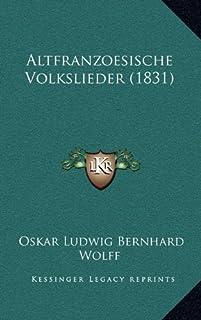 Altfranzoesische Volkslieder (1831)