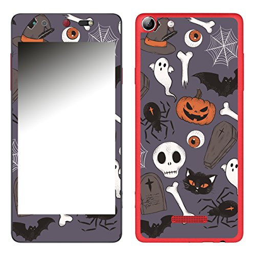 Disagu SF-106693_1209 Design Folie für Wiko Selfy 4G - Motiv Halloweenmuster 01