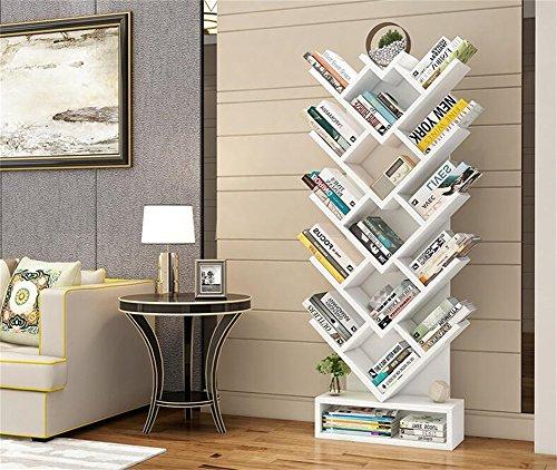 Mode-hohe Kapazitäts-Speicher-Bücherregal / Bücherregal, modernes minimalistisches Wohnzimmer-mehrschichtiges Eckbücherregal / Regal, Boden-Art Studenten-Kinderschlafzimmer-Studien-Buch-Ausstellungsst