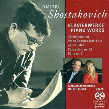 Shostakovich, D.: Piano Sonatas Nos. 1 and 2 / Suite, Op. 6 / 24 Preludes / Tarantella