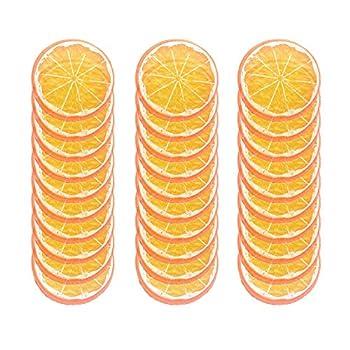 fake orange slices